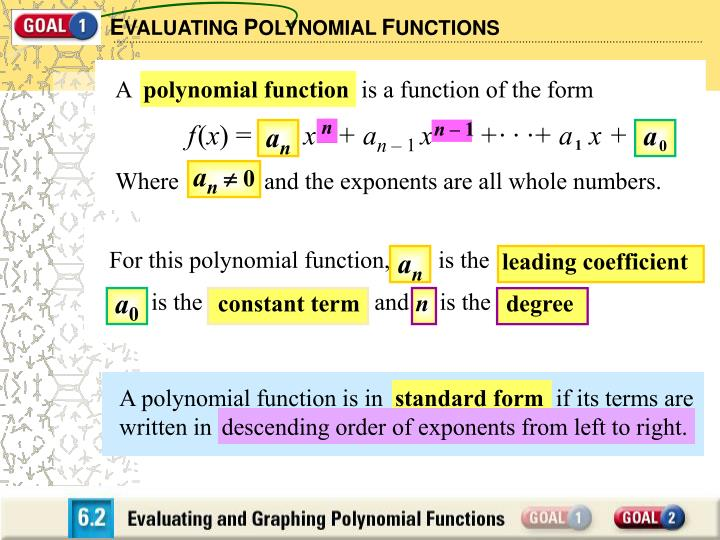 How do i analyze a polynomial function