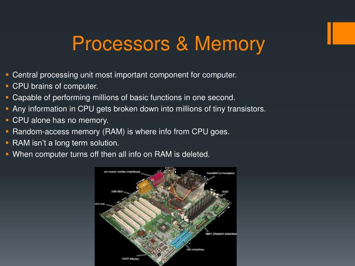 Processors & Memory