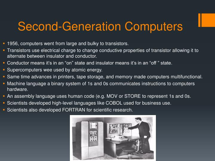 Second-Generation Computers
