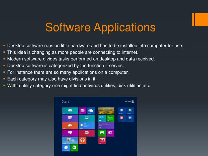 Software Applications
