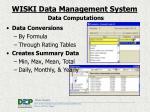 data computations