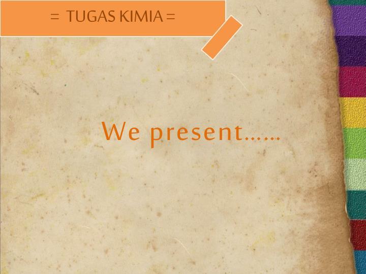 We present