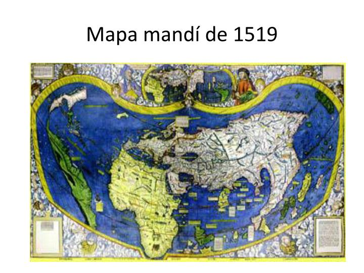 Mapa mandí de 1519