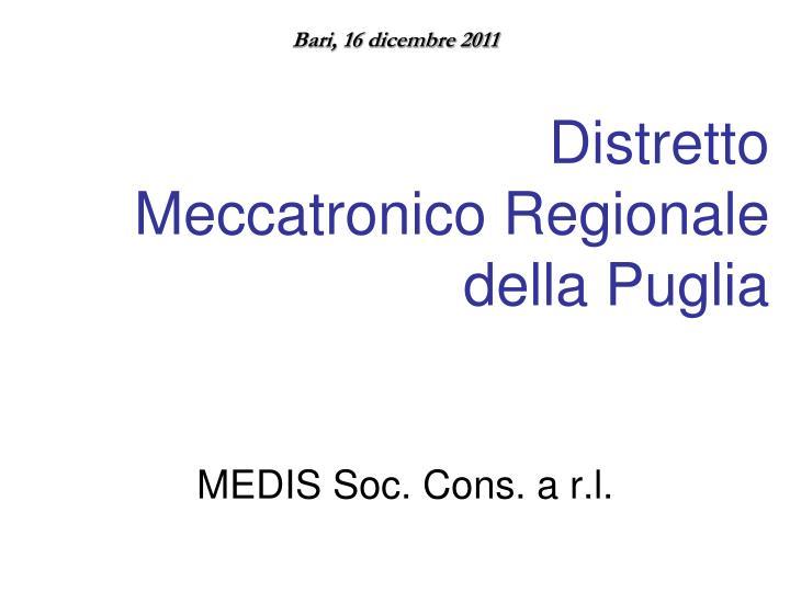MEDIS Soc. Cons. a r.l.