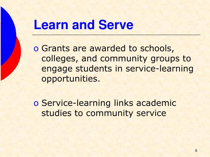 Learn and Serve