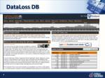 dataloss db