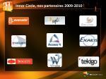 inner circle nos partenaires 2009 2010