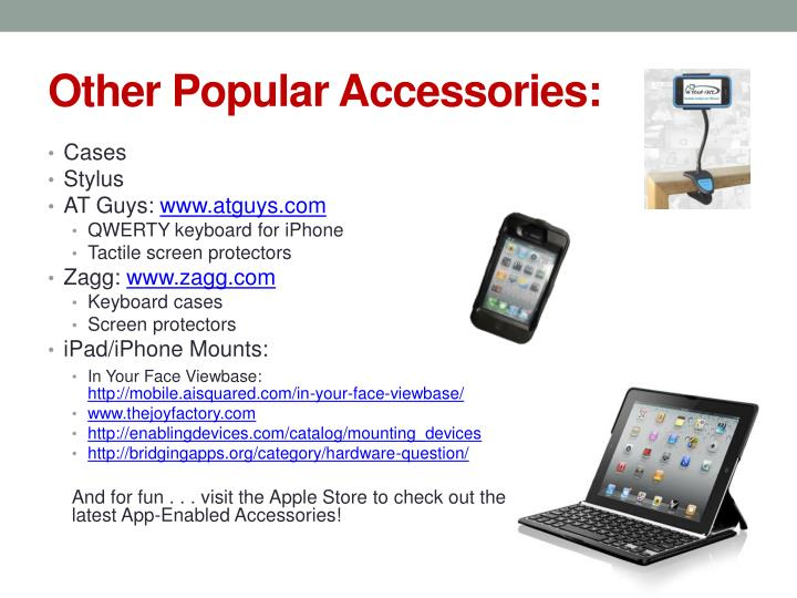 Other Popular Accessories: