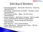 daa board members