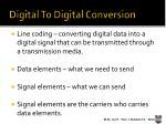 digital to digital conversion