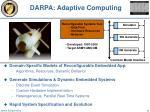 darpa adaptive computing