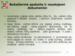 buhalterin apskaita ir naudojami dokumentai12