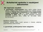 buhalterin apskaita ir naudojami dokumentai16