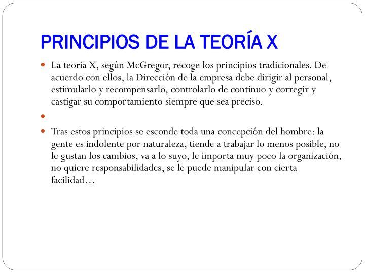 Principios de la teor a x