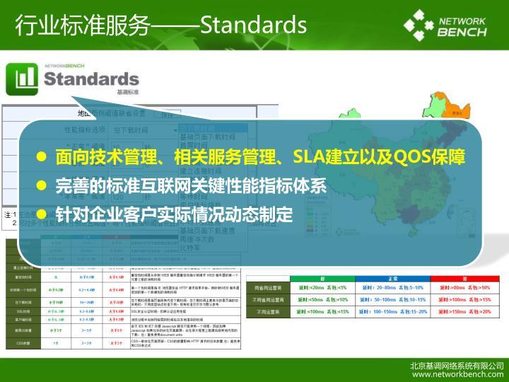 行业标准服务