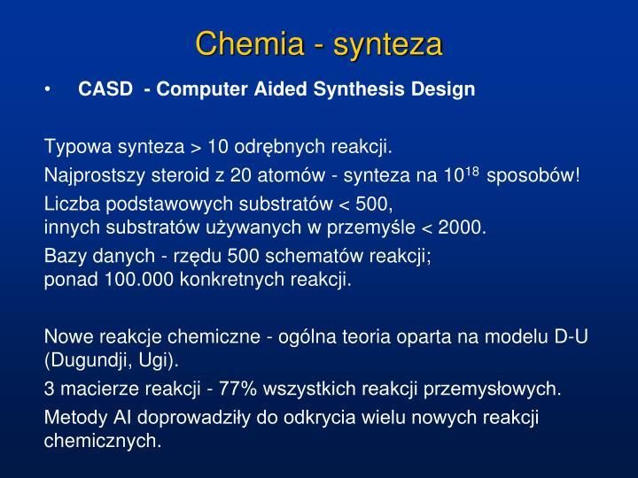 Chemia - synteza