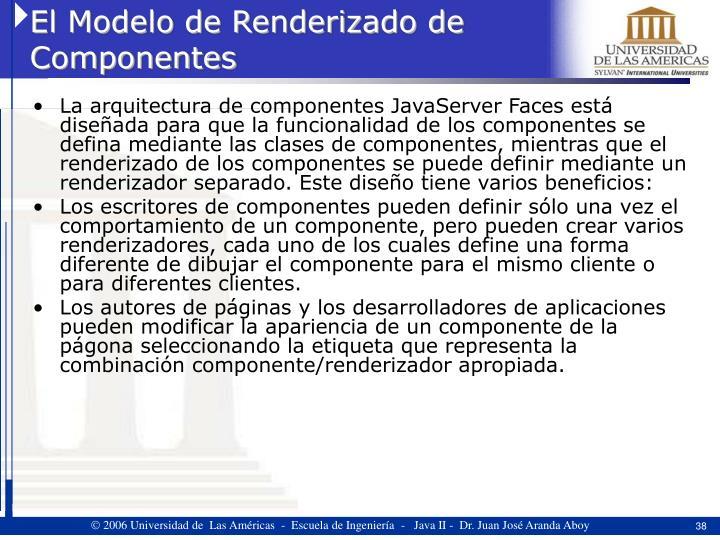 El Modelo de Renderizado de Componentes