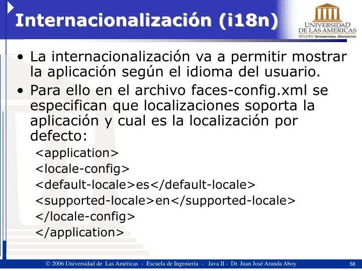 Internacionalización (i18n)