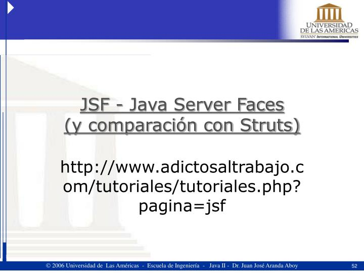 JSF - Java Server Faces