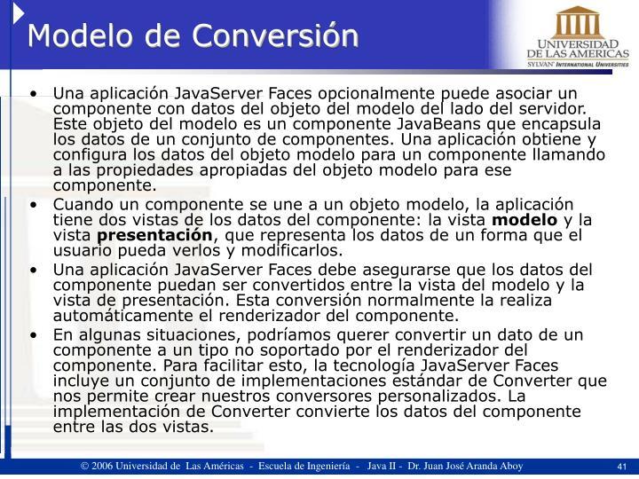 Modelo de Conversión