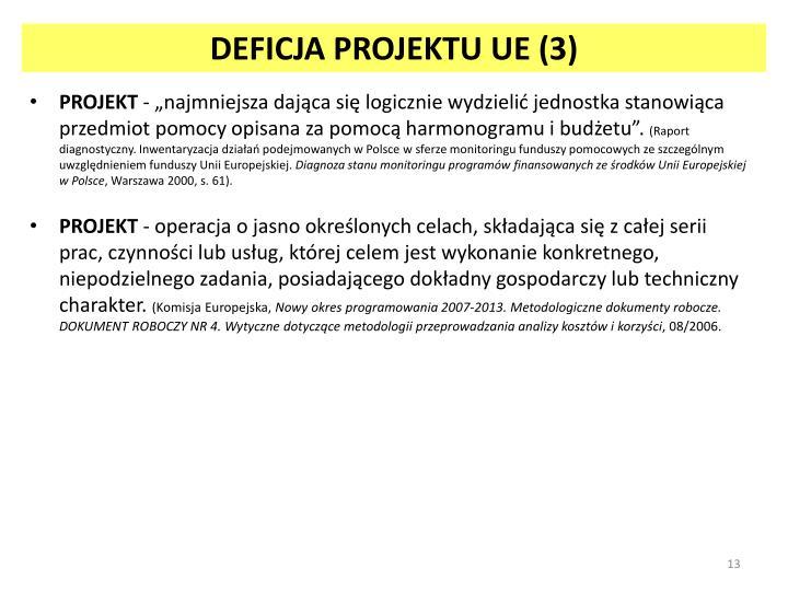 DEFICJA PROJEKTU UE (3)