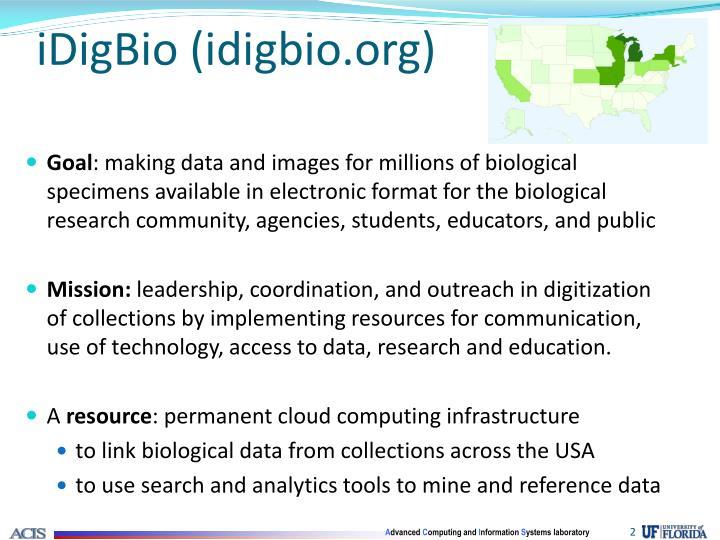 Idigbio idigbio org
