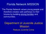 florida network mission