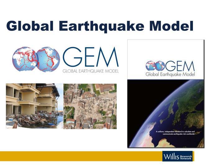 Global Earthquake Model