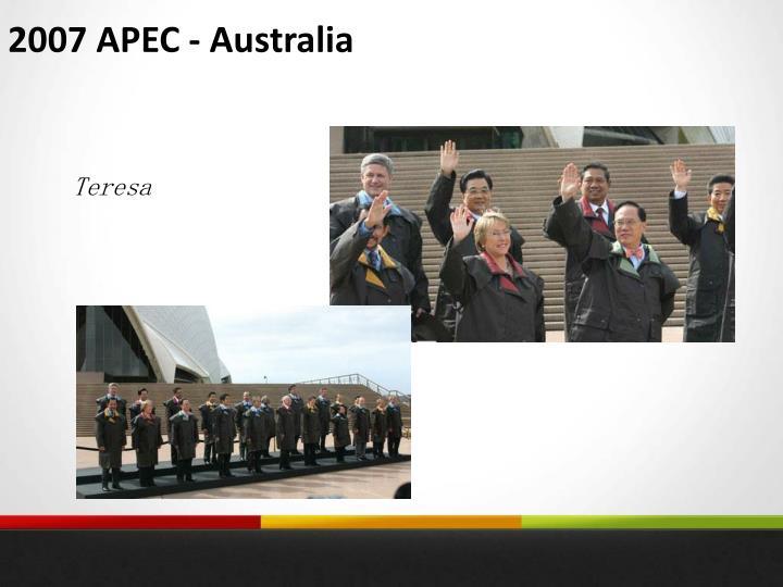 2007 APEC - Australia
