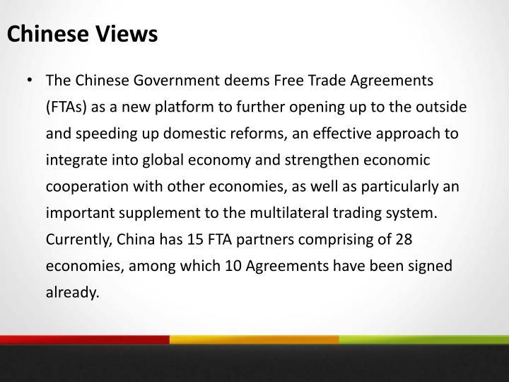 Chinese Views