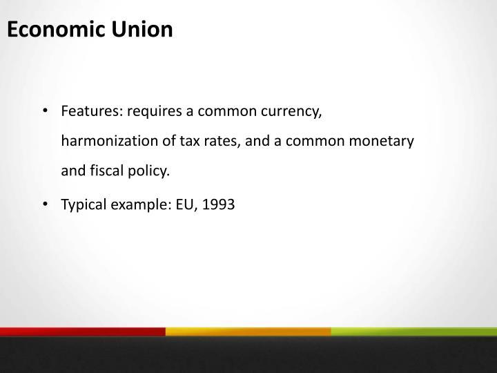 Economic Union