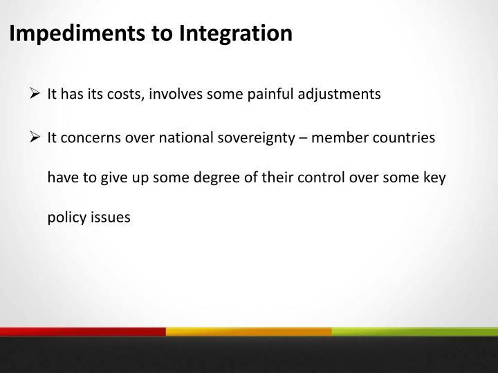 Impediments to Integration