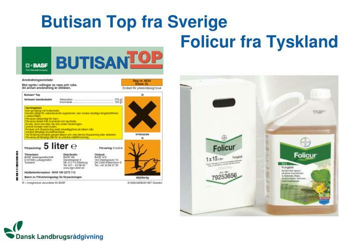 Butisan Top fra Sverige
