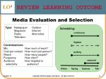 review learning outcome3