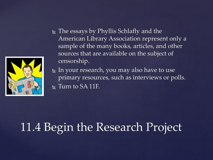 The essays by Phyllis