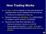 how trading works