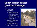 south nation water quality challenge