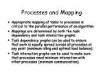 processes and mapping1