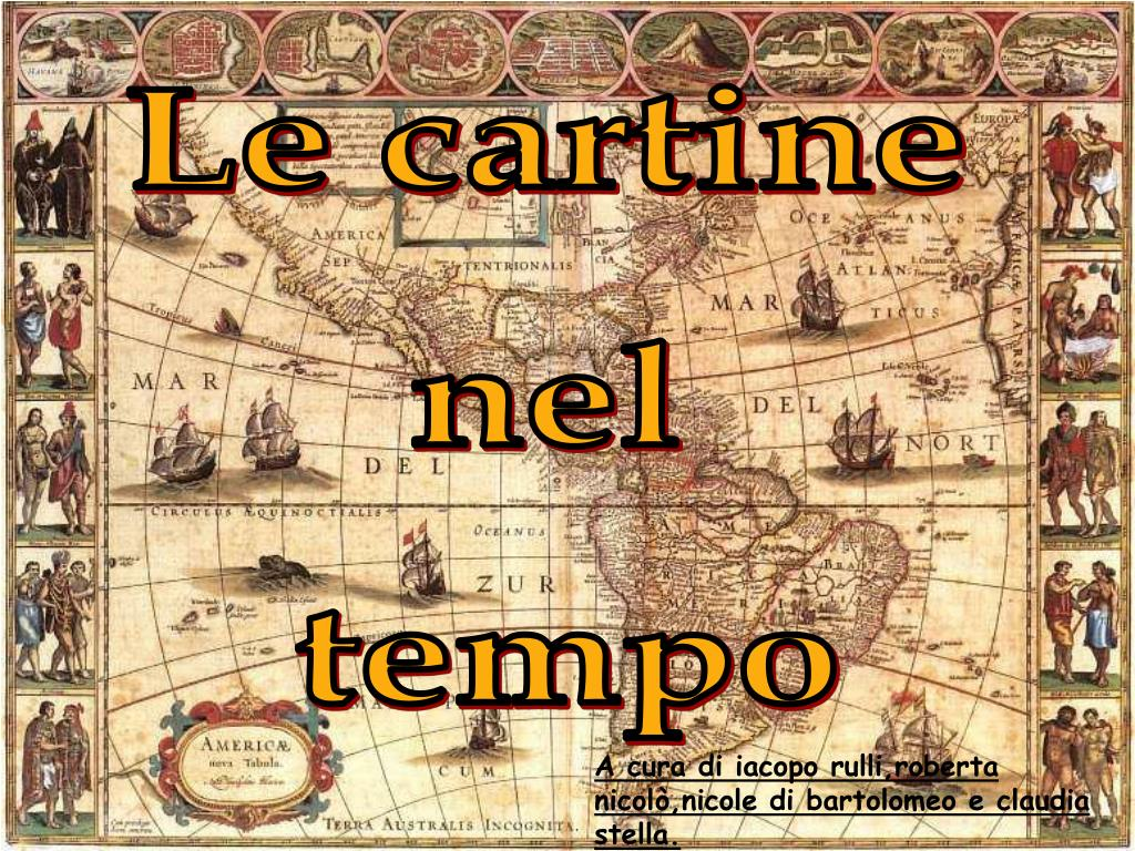 Cartina Mondo Ppt