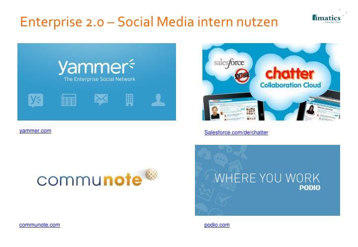 Enterprise 2.0 – Social