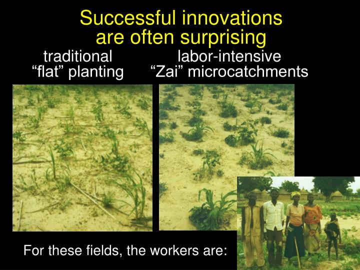 Successful innovations