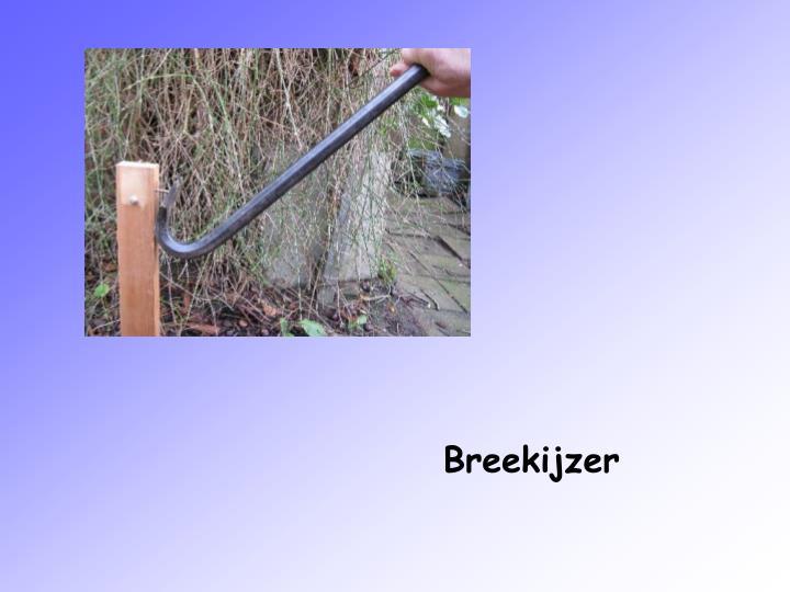 Breekijzer