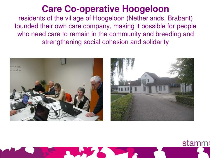 Care Co-operative Hoogeloon