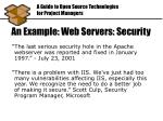 an example web servers security1
