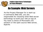 an example web servers