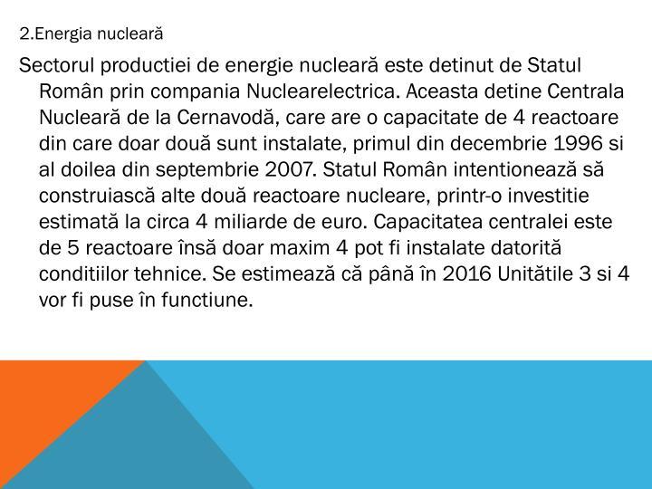 2.Energia nucleară