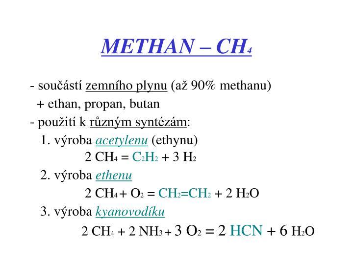METHAN – CH