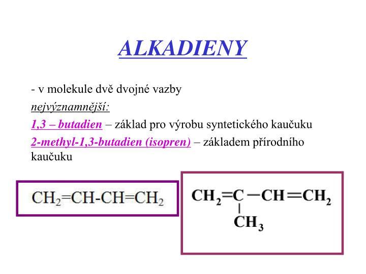 ALKADIENY