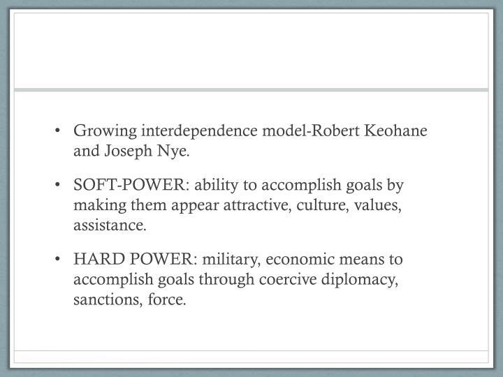 Growing interdependence model-Robert
