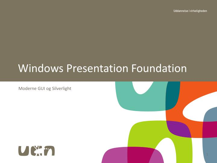 windows presentation foundation n.